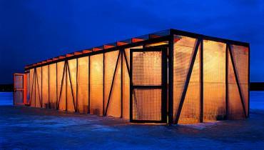 A.Brodsky, Ice bar, 2002.