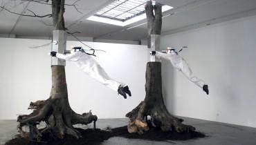 A. Ponomarev, Punto di vista, installazione alla Galleria Nina Lumer, gennaio 2008